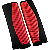 Seat Belt Pads Carnaby Red