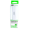 Powerbox 2000mA (white)
