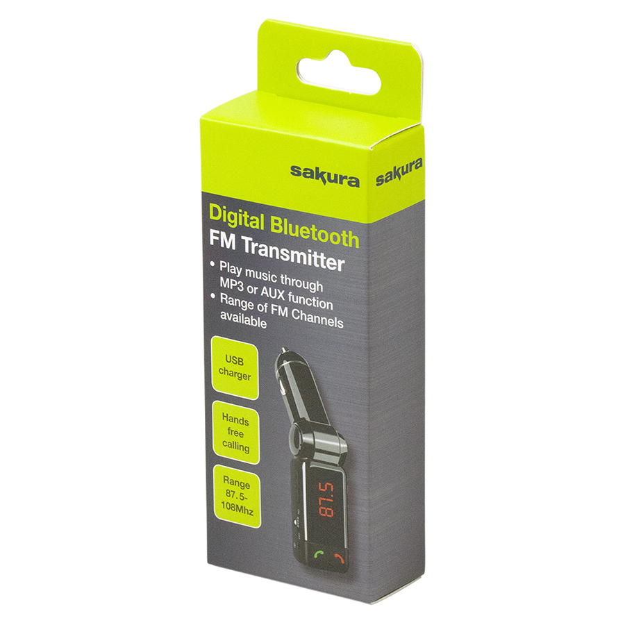 Digital Bluetooth FM Transmitter